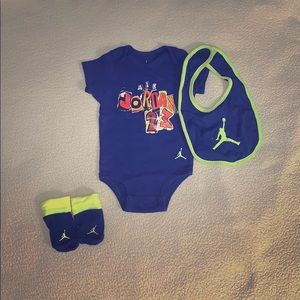 Air Jordan infant set